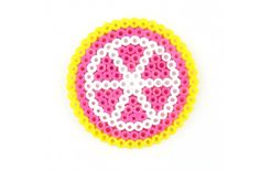 Perler® Lemon Slice Coaster by Karen Benvenuti