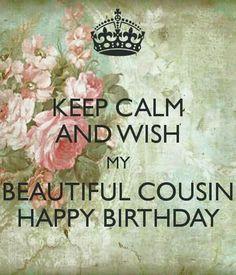 Cousin birthday