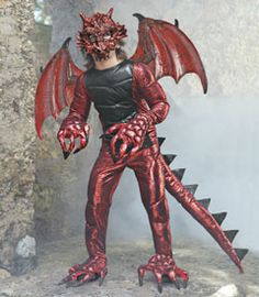 demon dragon boys costume - Only at Chasing Fireflies - Heads down! When this monstrous creature swoops in, you want to lay low.