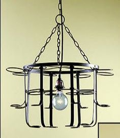 Wine bottle chandelier for the home pinterest wine bottle kitchen dining room 16 wine bottle chandelier room decor aloadofball Images