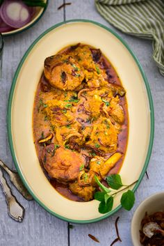 Aloo Gosht is a spicy meat gravy which has potatoes cooked with lamb or mutton in a thin watery stew. Here is how to make it.