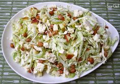Weight Watchers Recipes: Waldorf Coleslaw (2 Points+)