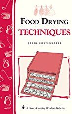 with Dried Fruit: Food Drying Techniques by Carol W. Costenbader. Practical, hands-on instruction. Drying is an ancient method of preserving foods. In its simplest form, it requires no electricity or even cooking fuel... http://www.farmersmarketonline.com/driedfruit.htm