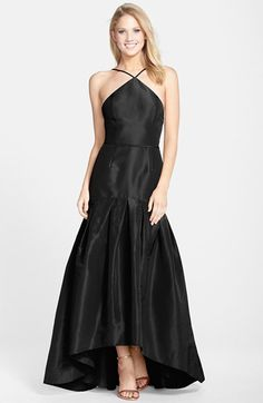 Jill Jill Stuart Cotton & Silk Trumpet Gown available at #Nordstrom