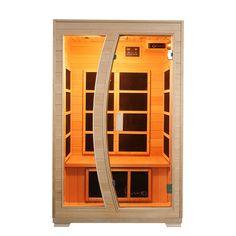 Buy Luxo Valo 2 Person Carbon Fibre Infrared Sauna Online Australia