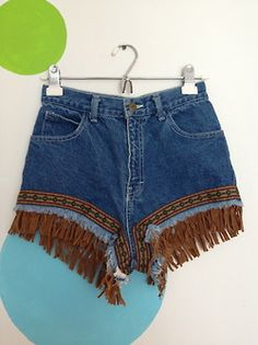 high waisted jean shorts | Tumblr