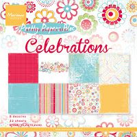 Marianne Design Pretty Papers Bloc CELEBRATIONS Square 15 2 cm 8 designs and 32 sheet Beautiful paper bloc with trendy colours in Marianne Design, Trendy Colors, Quilling, More Fun, Happy Shopping, Decoupage, I Shop, Outdoor Blanket, Scrapbooking