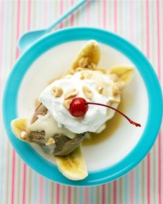 Butterscotch Banana Splits - Martha Stewart Recipes