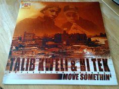 "Talib Kweli & Hi Tek (Reflection Eternal)* – Move Somethin' 12""  #uniqbeats #ebay #ebayuk #hiphop #vinyl"