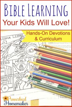 Hands-On Bible Learning for family devotions or homeschool curriculum! Love this approach to teaching the Bible. Hands-On Bible Learning for family devotions or homeschool curriculum! Love this approach to teaching the Bible. Bible Study For Kids, Bible Lessons For Kids, Kids Bible, Toddler Bible, Toddler Food, Bible Drawing, Bible College, Bible Activities, Church Activities