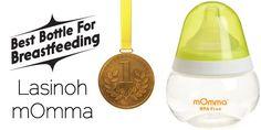 The Best Bottle for Breastfeeding: Lasinoh mOmma
