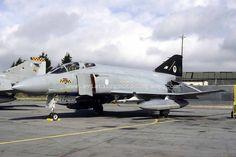 RAF 74 Sqn McDonnell F-4J Phantom ZE358/H (1987)