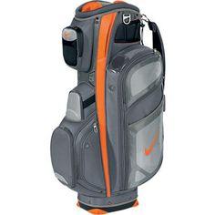 Nike Golf Performance Cart Bag 2013 - Cool Grey Safety Orange Silver Let s  Golf b729da6ece575