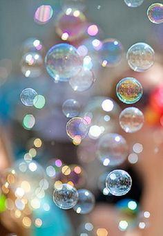 Bubbles; reflection; colors
