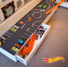 hot wheels toy car storage hot wheels toy car storage hot wheels toy car storage hot w Hot Wheels Storage, Toy Car Storage, Storage For Toys, Storage Ideas, Hot Wheels Display, Baby Storage, Storage Solutions, Boy Car Room, Baby Room