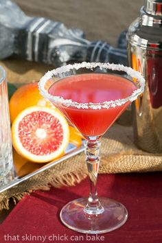 Blood Orange Margaritas | The color is almost as sublime as the flavor!!!