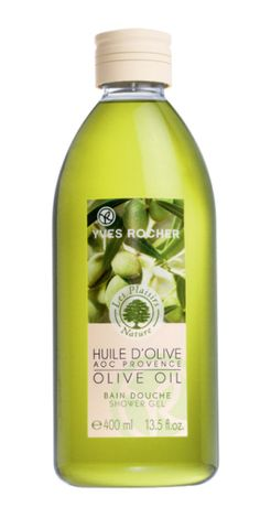 Yves Rocher's AOC Olive Oil Shower Gel discover the beneficial richness of this oil. #oliveoil #showergel #yvesrocher