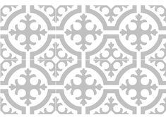carreaux ciment Collection Les Floraux, ref. 296, chez Ateliers Zelij