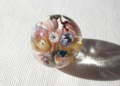 Japanese lampwork bead by Plumerias