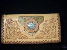 Hand tooled leatherwork
