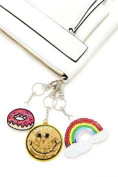 Rainbow Donut Keycha
