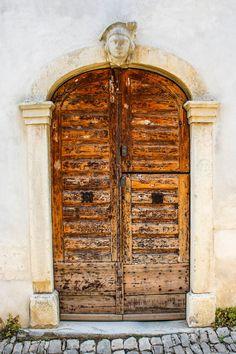 https://flic.kr/p/woXDbp | Istria, Croatia Set 2 | Motovun, Istria #door #gate @wood