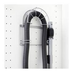 VARIERA Porte-tuyau IKEA Peut être fixé sur la contre-porte pour faciliter le rangement de l'aspirateur.