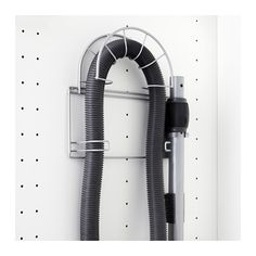 VARIERA Soporte para tubo de aspiradora, gris plata