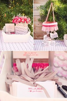 Ribbons and Ruffles Baby Shower   Part 1