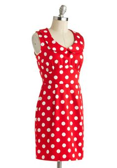 The Cherry on Dot Dress | Mod Retro Vintage Dresses | ModCloth.com