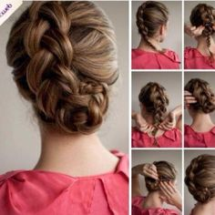 Tucked Dutch Braid