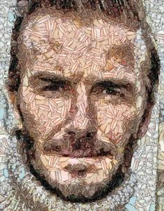 https://flic.kr/p/Uu2LFH   Happy B'day Dave   David Beckham's Mosaic Art