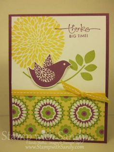 Betsy's Blossoms CAS by stampwithsandy - Cards and Paper Crafts at Splitcoaststampers