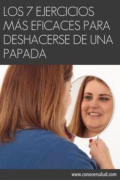 Los 7 ejercicios más eficaces para deshacerse de una papada #salud #pilatesparaadelgazar