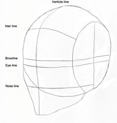 how to drawing proportioins of the face - Google Search