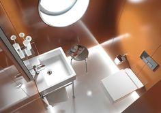 Duravit | Bathroom design series: Vero - washbasins, toilets, bidets and bath tubs from Duravit.