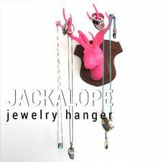 3DShook– JACKALOPE jewelry hanger –