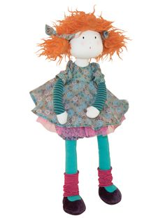 Show details for Moulin Roty Les Coquettes Adele rag doll