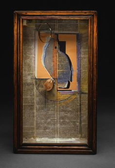 Joseph Cornell's For Juan Gris #7, c. 1954. See it at the Art Institute of Chicago.
