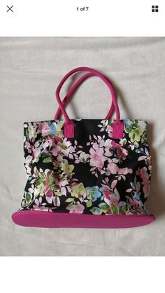 NEW AVON Full Bloom Canvas Tote Bag Wrapped In Paper And Sealed  fashion   clothing  shoes  accessories  womensbagshandbags (ebay link) 2bafe7687e0