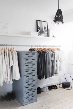 15 leukste inloopkast ideeën | minimalistisch - Makeover.nl