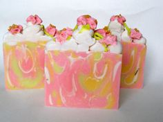 Sweet Pea Melody Soap / Artisan Soap / Cold by RoyaltySoaps, $7.50