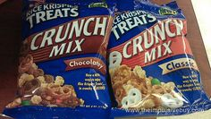 Rice Krispies Crunch Mix Snack Mix Recipes, Snack Mixes, Impulsive Buy, Baskin Robbins, Fruit Snacks, Rice Krispies, Pop Tarts, Treats, Chocolate