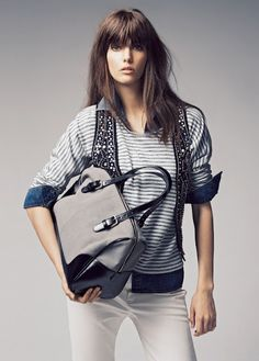 Mango F/W 2012. The look I love the most. Comes from catalog.