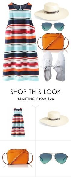 """""""Sneakers (Outfit Only) 1504"""" by boxthoughts ❤ liked on Polyvore featuring Brixton, L.K.Bennett, Tiffany & Co. and Aéropostale"""