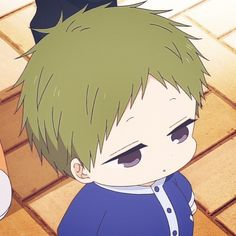 Kotaro Anime Love, Anime Guys, Manga Anime, Kawaii Chan, Kawaii Anime, Gakuen Babysitters, Anime Child, Cute Chibi, Anime Artwork