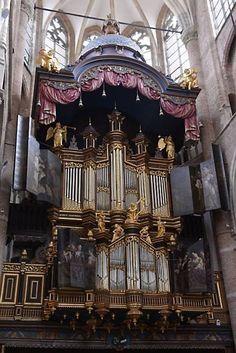 Goes - Maria Magdalena kerk -  Marcussenorgel