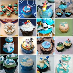 Airplane Cupcakes by *kimmie*, via Flickr