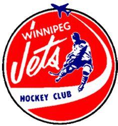 Winnipeg Jets Primary Logo on Chris Creamer's Sports Logos Page - SportsLogos. A virtual museum of sports logos, uniforms and historical items. Jets Hockey, Hockey Goalie, Hockey Players, Hockey Teams, Nhl Logos, Hockey Logos, Sports Logos, Sports Teams, Sports Uniforms