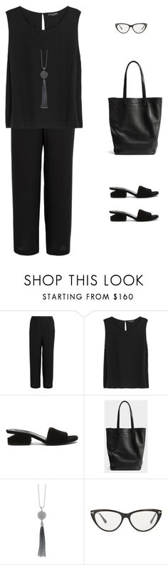 """""""S/S 2017"""" by yuenchewwan ❤ liked on Polyvore featuring Eileen Fisher, Alexander Wang, Lagos and Tom Ford"""